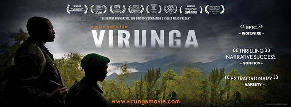 Virunga feature documentary film poster